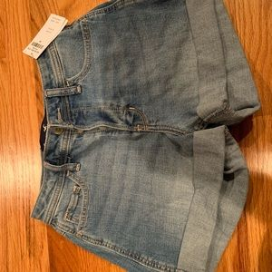 Hollister jeans shorts with tags